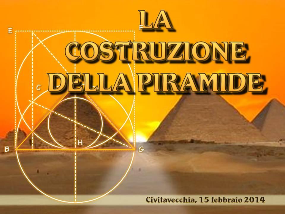 La costruzione della Piramide 2014